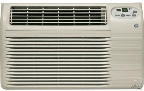 GE AJCQ08ACG 8,400 BTU Thru-the-Wall Air Conditioner with 10.6 EER, R-410A Refrigerant, 1.9 Pts/Hr Dehumidification, Energy Saver, Electronic Controls, Remote Control, ADA Compliant and Energy Star Rated AJCQ08ACG