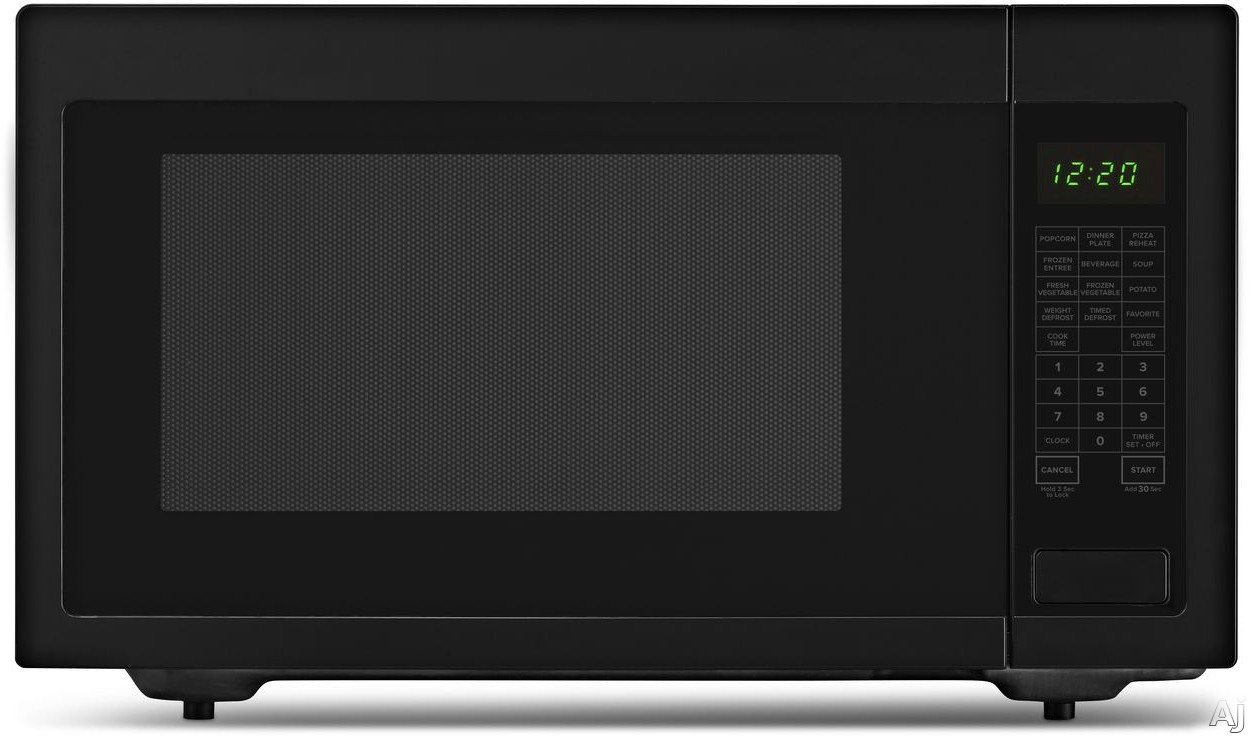Picture of Amana AMC4322GB 22 cu ft Countertop Microwave with Sensor Cooking Add 30 Seconds 9 Preprogrammed Options 10 Power Levels 1200 Cooking Watts Control Lock Auto Defrost and 22 cu ft Capacity Black