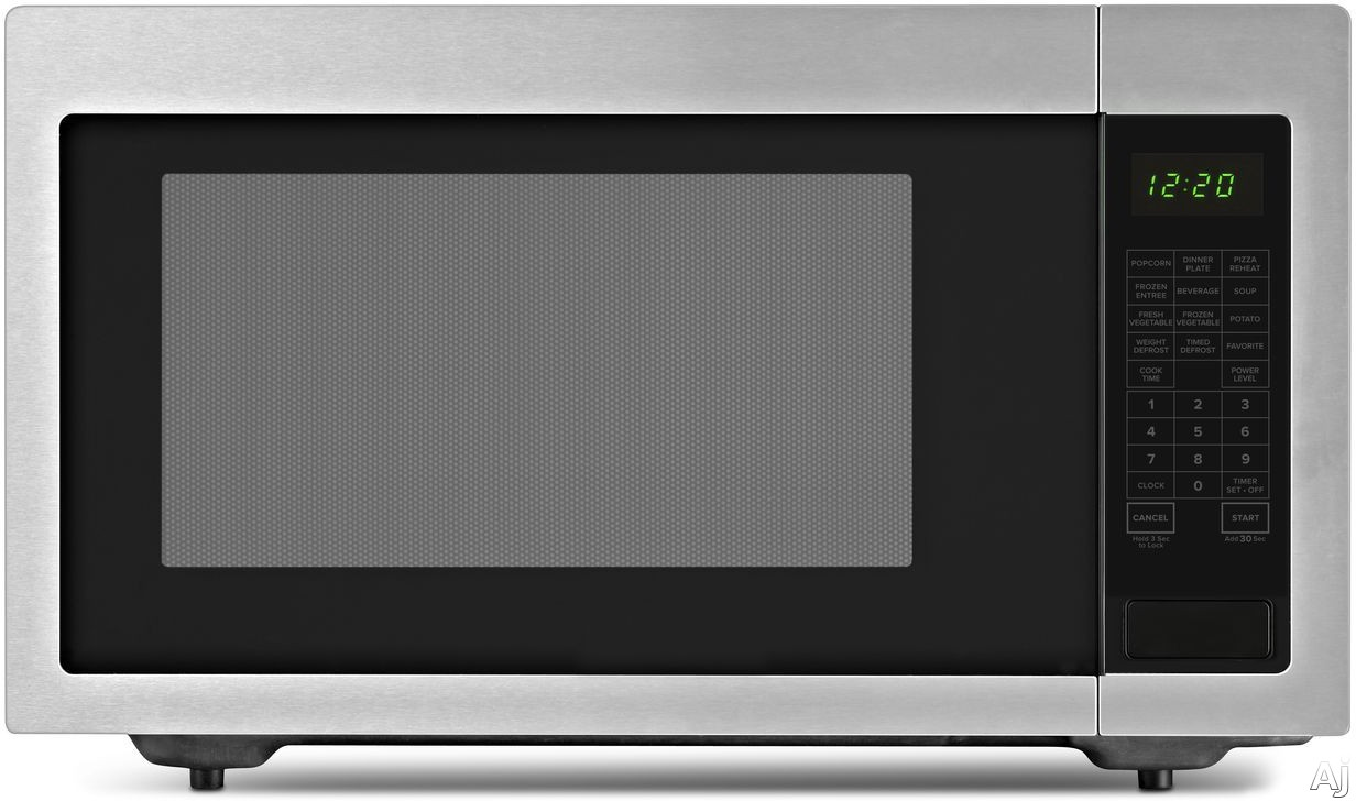 Picture of Amana AMC4322G 22 cu ft Countertop Microwave with Sensor Cooking Add 30 Seconds 9 Preprogrammed Options 10 Power Levels 1200 Cooking Watts Control Lock Auto Defrost and 22 cu ft Capacity