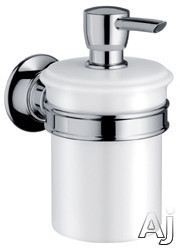 Hansgrohe Axor Montreux Series 42019820 Wall-mounted Soap Dispenser: Brushed Nickel