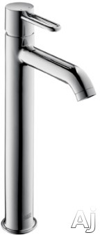 Hansgrohe Axor Uno2 Series 38025001 Single Lever Lavatory Faucet With 5-11/16 Inch Reach, 13-3/16 Inch Height, M2 Ceramic Cartridge, Boltic Handle Lock And Ada Compliant: Chrome