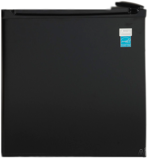Avanti AR171BF 17 cu ft Compact Refrigerator with 2 Wire Shelves 2 Door Bins Mechanical Temperature Control Automatic Defrost and Reversible Door Hinge
