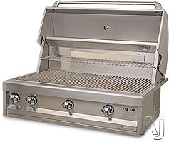 Artisan Art2 Multi-configuration Grill With 20,000 Btu Burners, Warming Rack, Infrared Rotisserie Burner, Simple Knob Controls, 304 Series Stainless Steel And Electronic Ignition
