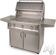 Artisan Art232c Multi-configuration Grill With 20,000 Btu Burners, Warming Rack, Infrared Rotisserie Burner, Simple Knob Controls, 304 Series Stainless Steel And Electronic Ignition: 32 Inch Cart Model, Natural Gas