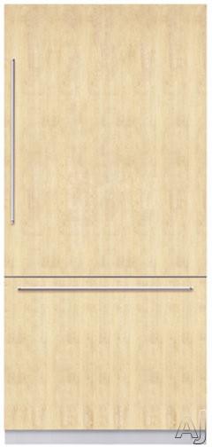 "Bosch Refrigerator - Bosch Integra Series B36IB70NSP 36"" Built-in Fully Flush Bottom-Freezer Refrigerator With 3 Frameless Glass Shelves Internal Filtered Ice Maker And Electronic"