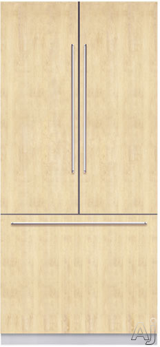 """Bosch Integra Series B36IT71NNP 36"""" Built-in Fully Flush French Door Refrigerator With 3 Frameless Glass Shelves Internal Filtered Ice Maker And Electronic Con"""