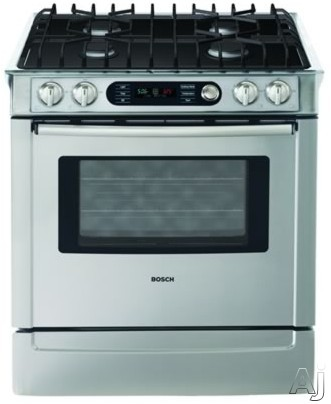 Bosch Hdi7282u 30 Quot Slide In Dual Fuel Range With 4 Sealed