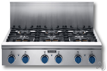 Thermador Pc366bs 36 Gas Cooktop With Star Burners 2 W