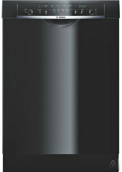 Bosch Dishwasher - Bosch Ascenta Series SHE4AM16UC Full Console Dishwasher With 4 Wash Cycles ECOSENSE Delay Start Half Load Option EASYLOAD Standard Racks And 53 DBA Silence