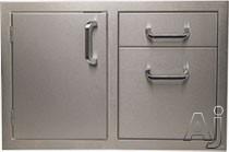 Artisan ARTDDC Built-In Storage Door-Drawer Combo