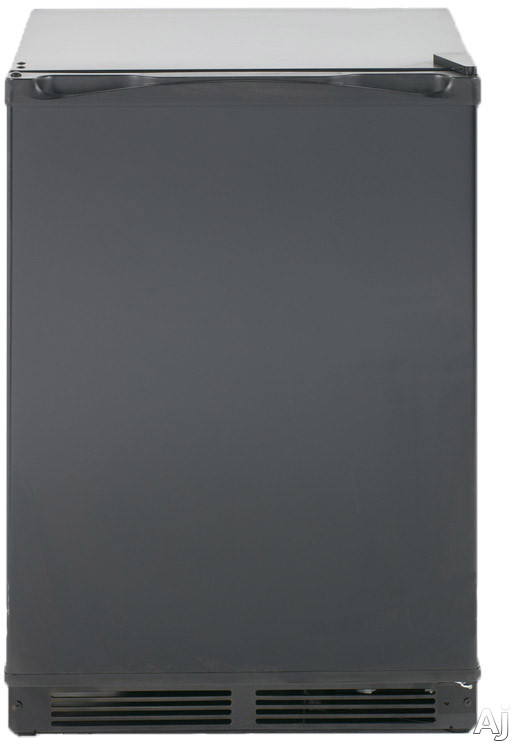 Avanti RM52T1BB 24 Inch Compact Refrigerator with Chiller Compartment, Crisper Drawer, Can Bin, 5.2 cu. ft. Capacity, Adjustable Glass Shelf, 3 Door Bins, LED Lighting and ENERGY STAR®