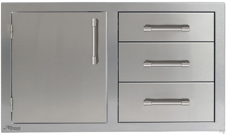 Alfresco Axeddcl 32 Inch Combo Door Plus Drawers