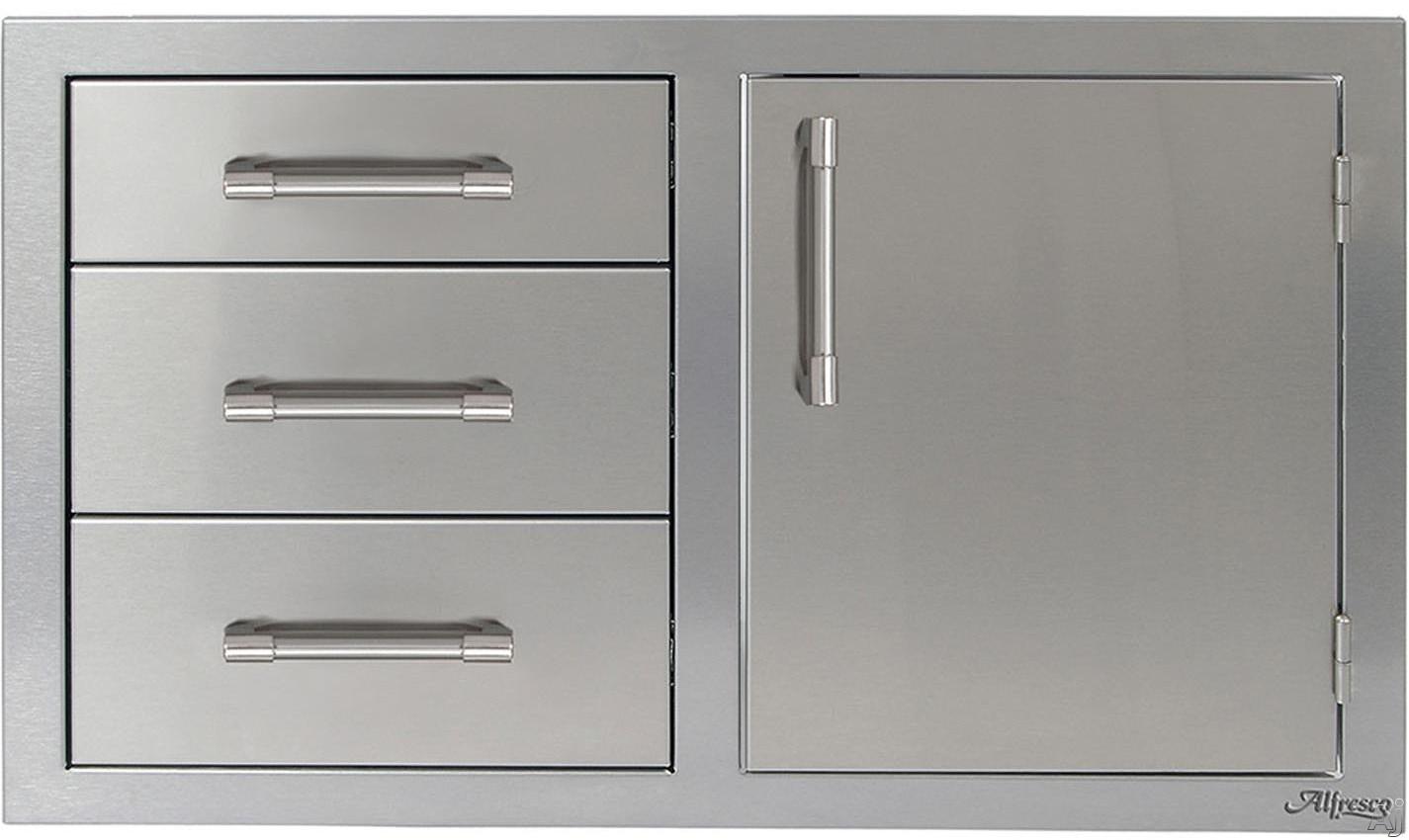 Alfresco Axeddcr 32 Inch Combo Door Plus Drawers