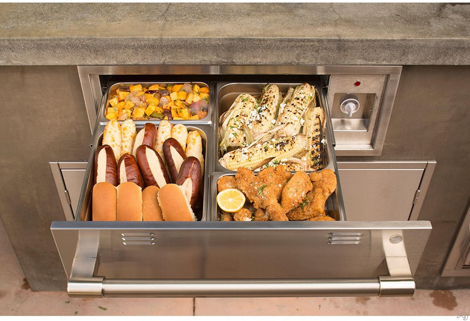 Image of Alfresco AXEWD30 30 Inch Built-In Electric Warming Drawer