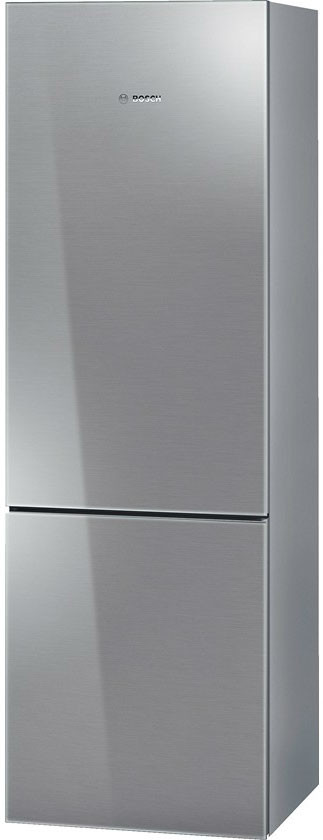 Bosch 800 Series B10CB80NV 24 Inch Counter Depth Bottom-Freezer Refrigerator with 10.0 cu. ft. Capacity, 2 Spill Proof Glass Shelves, Gallon Door Storage, 1 Crisper Drawer, 3 Removable Freezer Drawers, Wine Rack and Energy Star Rated B10CB80NV