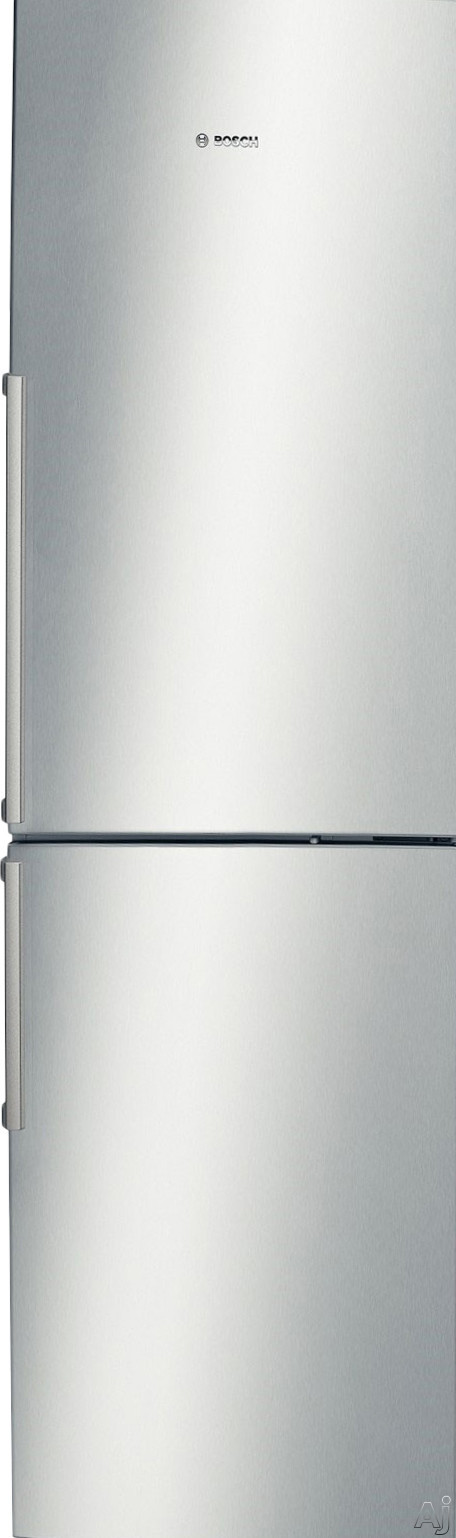Bosch 500 Series B11CB50SSS 24 Inch Counter Depth Bottom-Freezer Refrigerator with SuperFreeze, SuperCool, Multi-Air Flow, 11.0 cu. ft. Capacity, Spillproof Glass Shelves, Wine Rack, HydroFresh Drawer and ENERGY STAR Qualification
