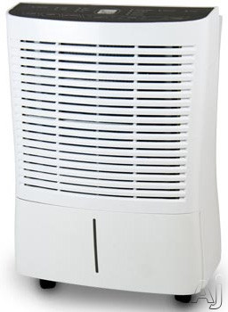 Soleus BDA95 95 Pint Capacity Dehumidifier with R 410A Refrigerant 3 Preset Modes 3 Fan Speeds Automatic Defrost Programmable Timer Bucket Full Indicator and Alarm