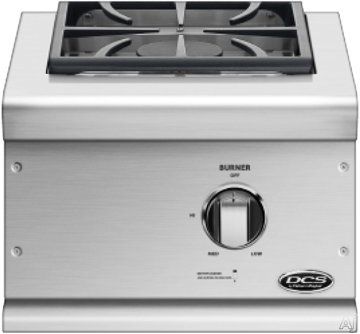 DCS BGC131BIL Single Side Burner with One 17,000 BTU Burner and Stainless Steel Construction for Built-in Installation: Liquid Propane