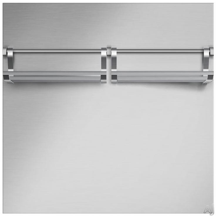 "DCS BGRU3030 30"" Brushed Stainless Steel Range Backguard: 30"" Stainless Steel"