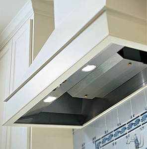 Vent-A-Hood BH234SLDSS Decorative Wall Hood Liner with Dual Level Halogen Lighting and Magic Lung Filter-less Blower: 36 Inch Stainless Steel/600 CFM Blower
