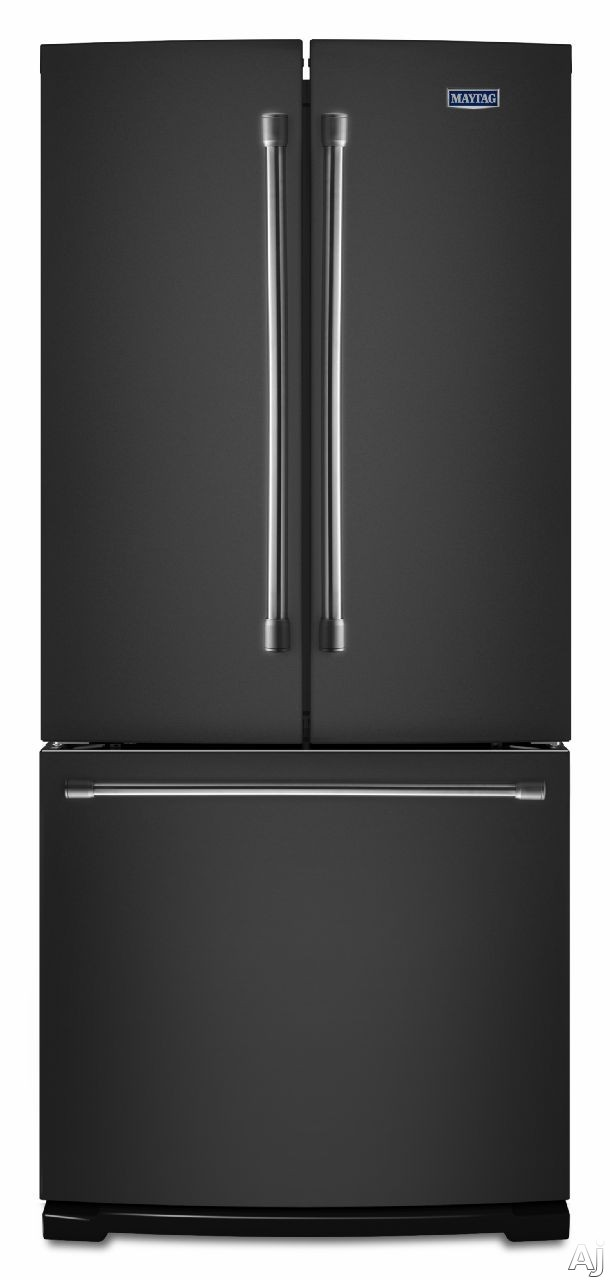 Maytag mff2055dre 19 7 cu ft french door refrigerator for 6 ft wide french doors