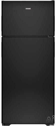 Hotpoint HPS18BTH 17.6 cu. ft. Top Freezer Refrigerator with 2 Adjustable Wire Shelves, 2 Clear Drawers, Gallon Door Storage, Dairy Bin, ADA Compliant and Optional Ice Maker