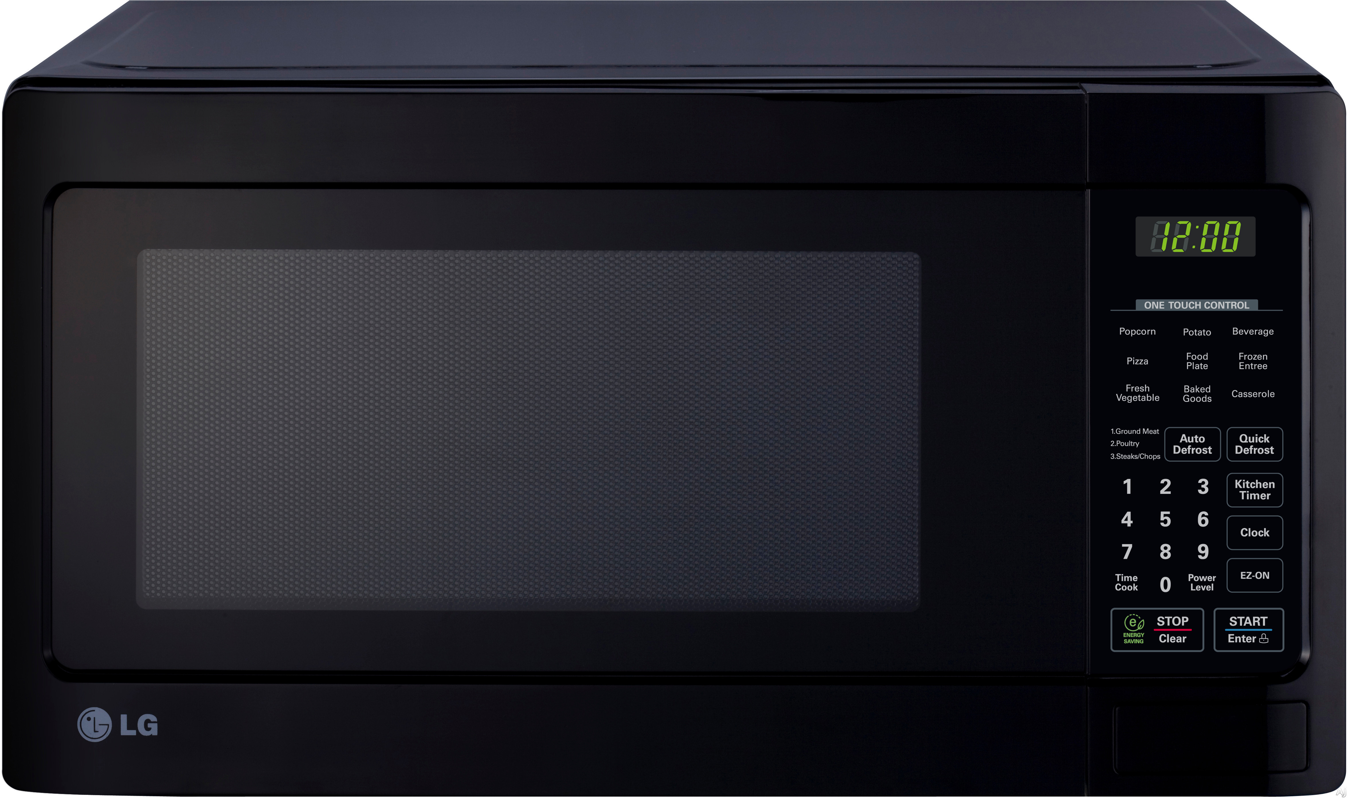 LG LCS1112SB 1.1 cu. ft. Countertop Microwave Oven with 1,000 Watts ...