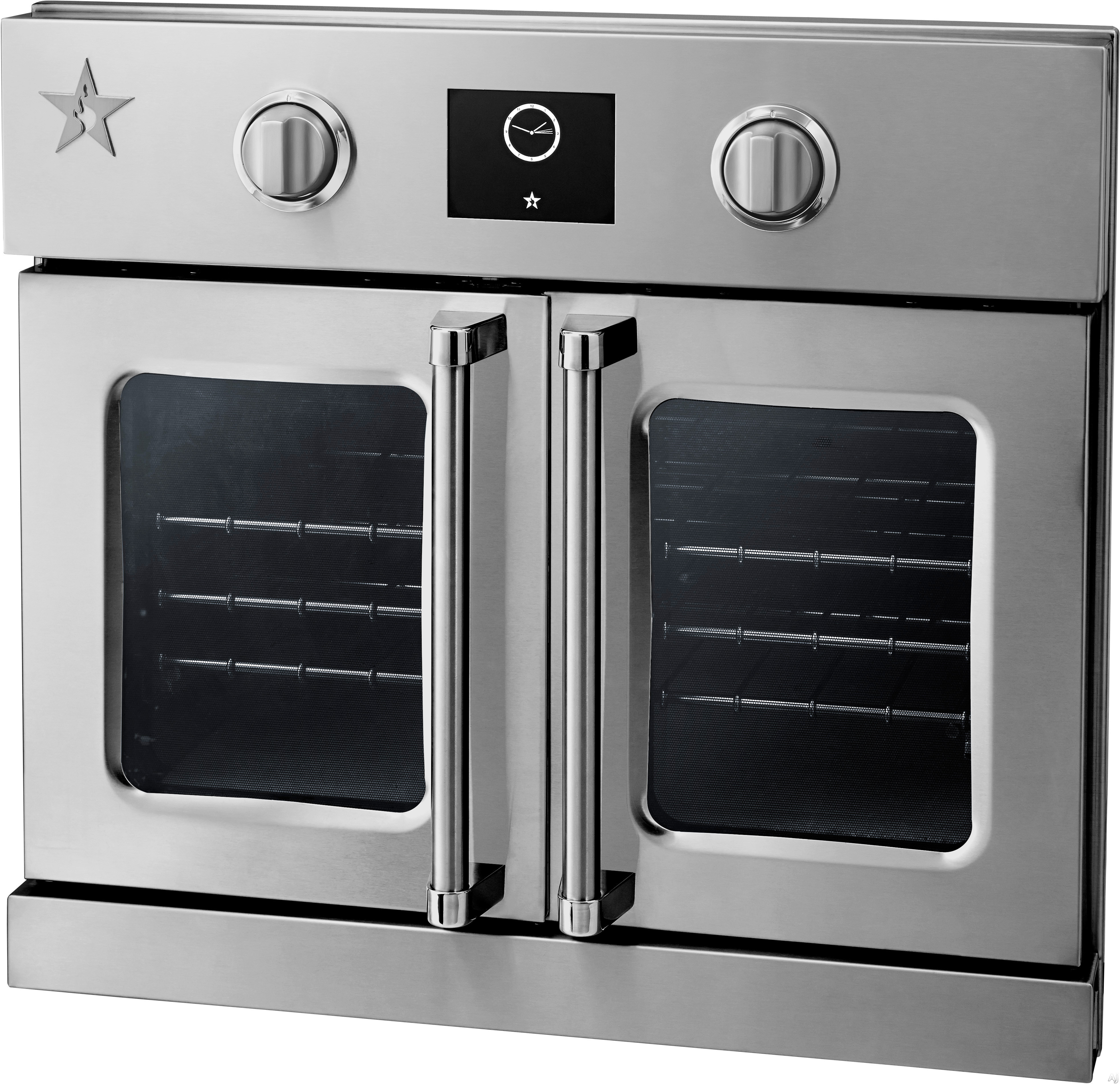 Bluestar bsewo30ecsd 30 single electric wall oven with 4 for Wall oven