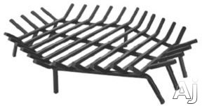 Blue Rhino C1549 Hexagonal Bar Grate for Wood Burning Fireplaces 30
