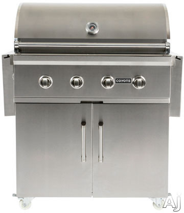 Coyote C1s36ct 36 Inch Cart For Coyote Grills