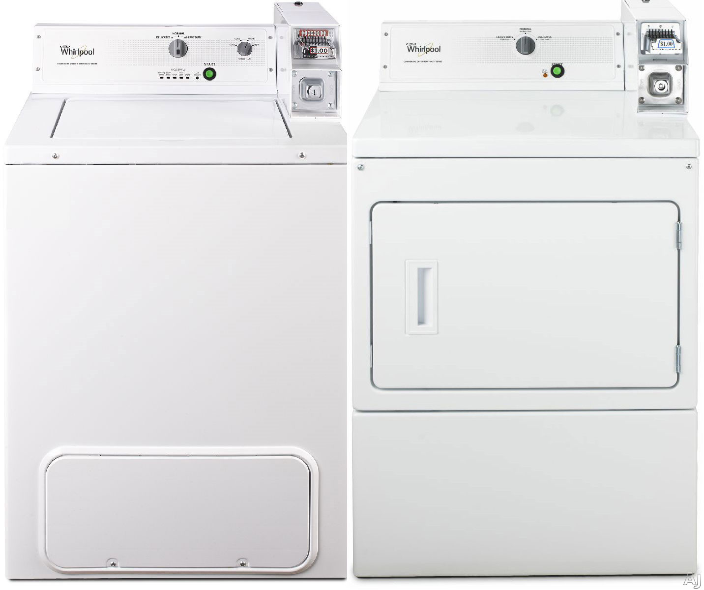 Light Commercial Washer And Dryer ~ Whirlpool whi tl series top load