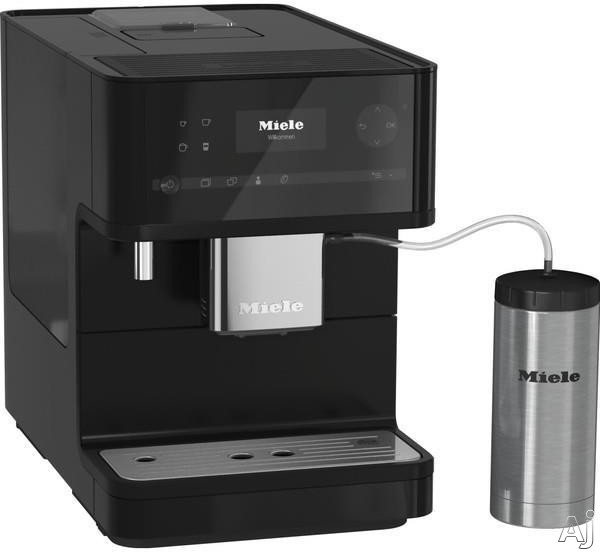 Miele CM6350OBSW Countertop Coffee Machine with AromaticSystem, ComfortClean, Easily removable Brew Unit, System Lock, User Profiles and Individual Settings: Obsidian Black
