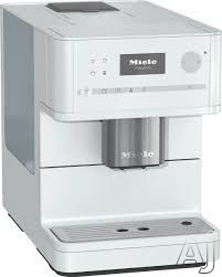 Miele CM6150LW Countertop Coffee Machine With OneTouch, AromaticSystem, ComfortClean, Easily Removable Brew Unit, System Lock, Individual Settings and Timer: Lotus White