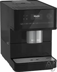 Miele CM6150OB Countertop Coffee Machine With OneTouch, AromaticSystem, ComfortClean, Easily Removable Brew Unit, System Lock, Individual Settings and Timer: Obsidian Black