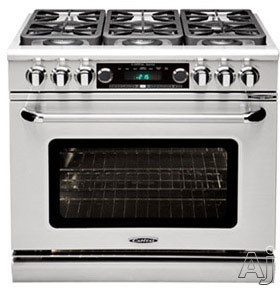 Capital Connoisseurian Series COB304L 30 Inch Pro Style Dual Fuel Range with 4 25 000 BTU Open Burners 50 cu ft Oven Dual Kitchen Timers Motorized Rotisserie and Moist Bake Option Stainless Steel Liquid Propane