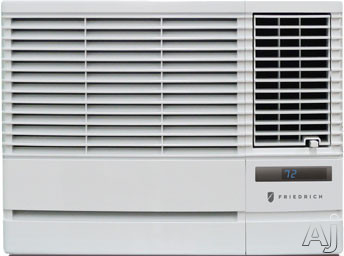 Friedrich Chill Series CP06G10A 6 000 BTU Room Air Conditioner with 112 EER R 410A Refrigerant 18 Pts Hr Dehumidification 24 Hour Timer Money Saver Setting and Remote Control