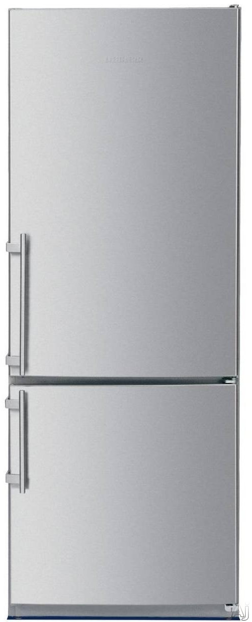 Liebherr CS1200 24 Inch Counter Depth Bottom Freezer Refrigerator with 114 cu ft Capacity Adjustable Glass Shelves GlassLine Storage Racks LED Lighting and LED Temperature Display Right Hinge Door Swing