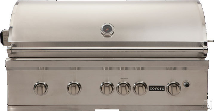 Coyote csl42lp 42 built in gas grill with 1 275 sq in for Coyote outdoor grills reviews