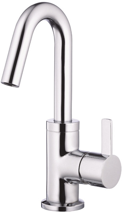 "Danze Amalfiâ""¢ Collection D221530 Single Lever Lavatory Faucet with 3 9 16 Inch Reach 10 Inch High Spout and ADA Compliant Chrome"