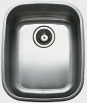 Ukinox D376 16 Inch Undermount Single Bowl Stainless Steel Sink with 18 Gauge 18 10 Nickel Content Sound Absorbing Pads and European Polish Finish