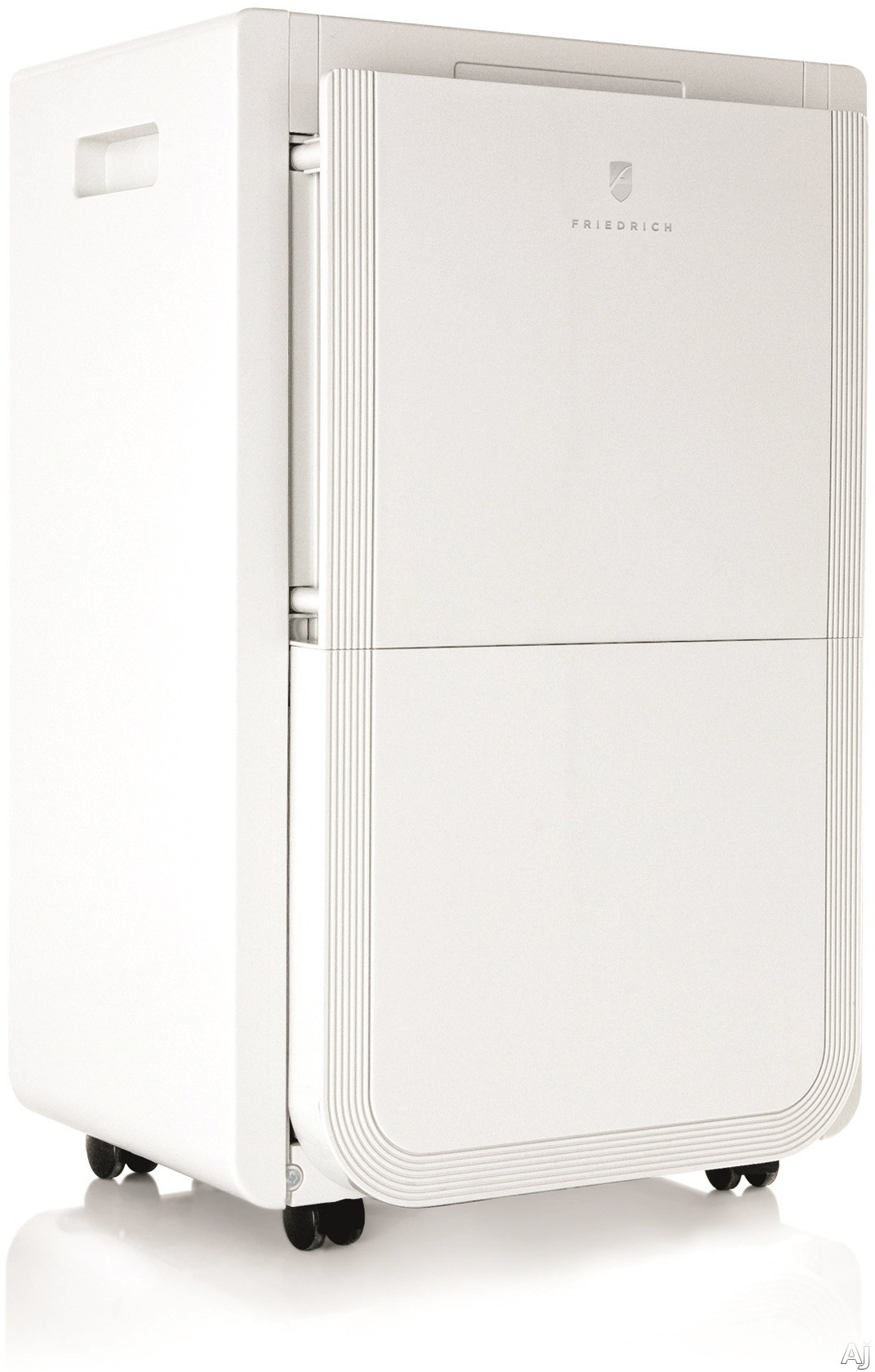 Friedrich D25BNP 25 Pint Capacity Dehumidifier with 2 Fan Speeds Electronic Controls Adjustable Humidity Settings and 2 500 sq. ft. Coverage Area