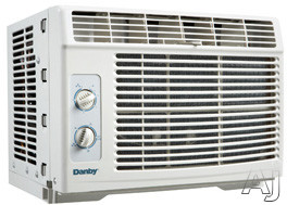Danby DAC050MUB1GDB 5,000 BTU Window Air Conditioner with R-410A Refrigerant, 150 sq. ft. Cooling Area, 2-Way Air Direction, Removable Air Filter and Mechanical Controls DAC050MUB1GDB