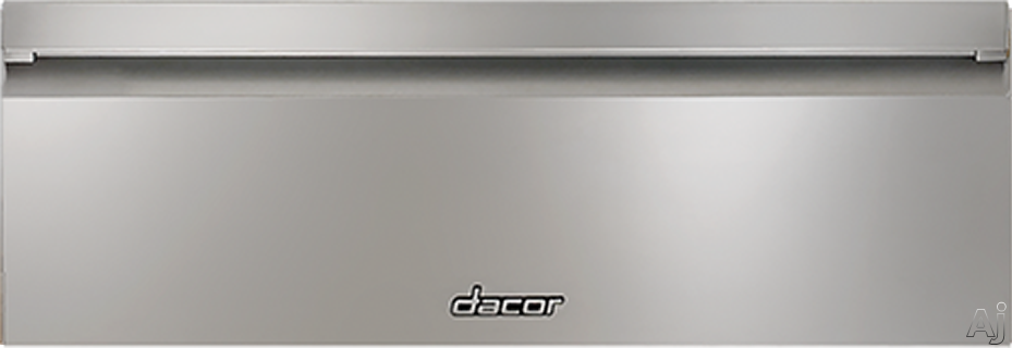 Picture of Dacor HWDF30S 30 Inch Heritage Flush Warming Drawer with Four Timer Settings Four Temperature Levels Electronic Controls Large Capacity and Sabbath Mode