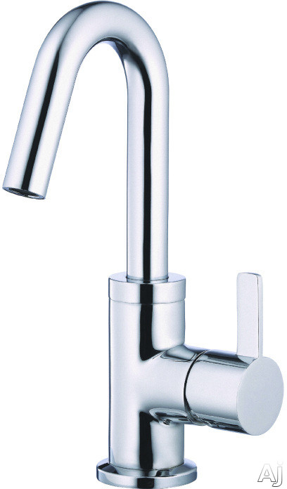 "Danze Amalfiâ""¢ Collection D222530 Single Handle Bathroom Faucet with 3 Inch Spout Reach and Ceramic Disc Valve Chrome"