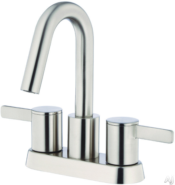 "Danze Amalfiâ""¢ Collection D301130BN Double Handle Bathroom Faucet with 4 Inch Reach Brushed Nickel"