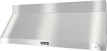Miele DAR1260 60 Inch Wall Mount Range Hood with Temperature Sensor, CleanCover, LED ClearView Lighting, Stainless Steel Baffle Filters, Dishwasher-Safe Filters, 3 Speeds and 1,200 CFM DAR1260