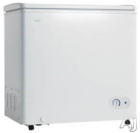 Image of Danby DCF055A1WDB1 5.5 cu. ft. Chest Freezer with Foam-Insulated Cabinet and Lid, 1 Adjustable Wire Basket, 1 Compartment Divider, Mechanical Thermostat and Manual Defrost