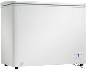 Image of Danby Designer Series DCF081A1WDD 8.1 Cu. Ft. Chest Freezer with 1 Adjustable Wire Basket, 1 Organizational Divider, Front Mount Mechanical Thermostat, ENERGY STAR and Manual Defrost