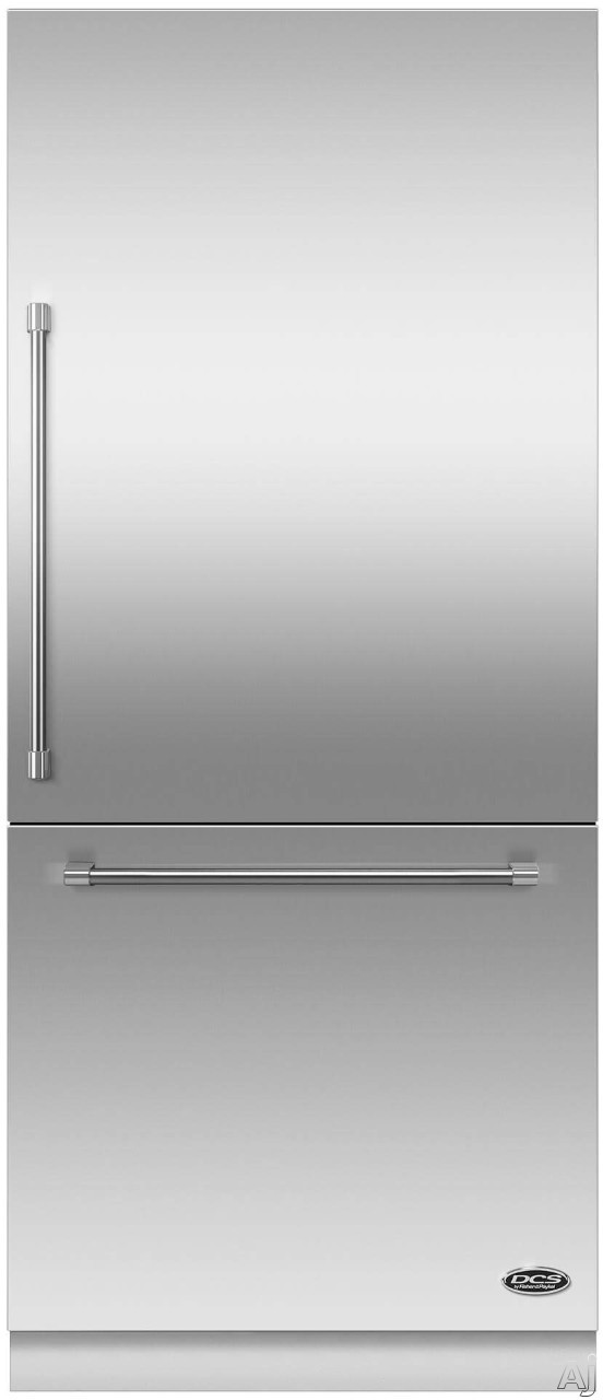 DCS RS36W80XJC 36 Inch Built-In Bottom Freezer Refrigerator with 16.8 cu. ft. Capacity, 3 Adjustable Spill-Safe Shelves, 6 Door Bins, 2 Humidity Control Crispers, Pastry Shelf, Bottle Chill Mode, Fast Freeze, Internal Ice Maker and ENERGY STAR