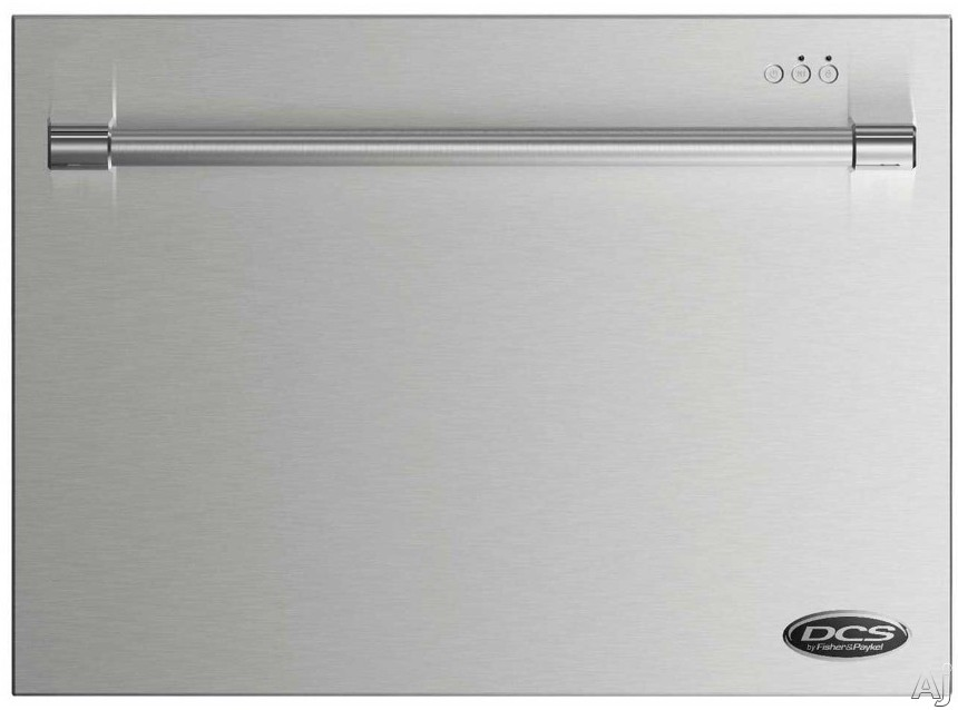 DCS DishDrawer Series DD24SV2T7 24 Inch DishDrawer Dishwasher with 7 Place Setting Capacity 9 Wash Cycles Heavy Wash Cycle Fast Wash Cycle Foldable Cup Racks Fold Down Tines One Button Start Child Loc